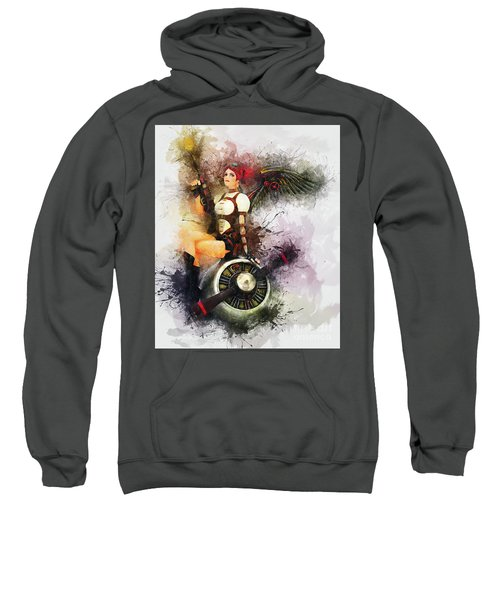 Aircraft Girl Sweatshirt