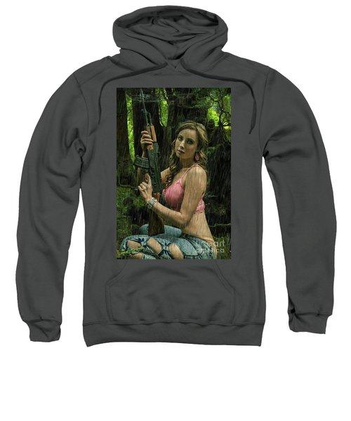 Ak47 In The Rain Sweatshirt