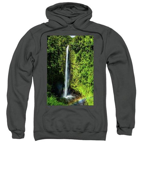 Akaka Falls With Rainbow Sweatshirt