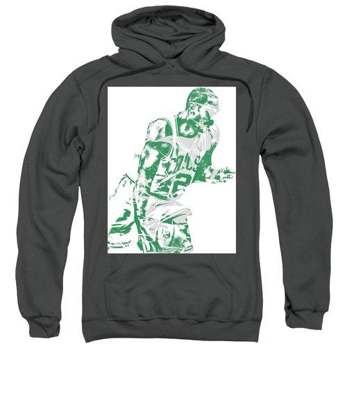 Al Horford Boston Celtics Pixel Art 5 Sweatshirt