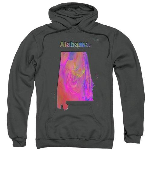 Alabama Map Sweatshirt