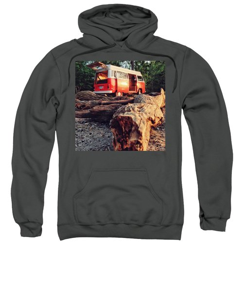 Alani By The River Sweatshirt by Andrew Weills