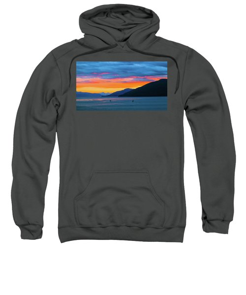 Alaska Fishermans Sunset Sweatshirt