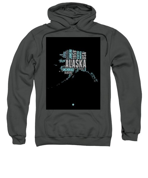 Alaska Word Cloud 1 Sweatshirt