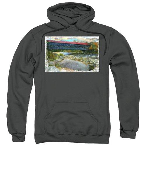 Albany Covered Bridge Nh. Sweatshirt