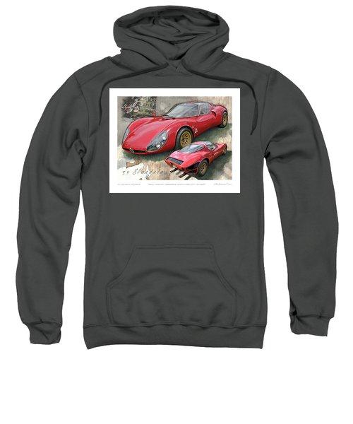 1967 Alfa Romeo 33 Stradale Sweatshirt