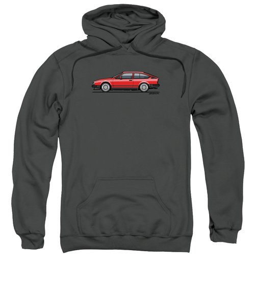 Alfa Romeo Gtv6 Red Sweatshirt
