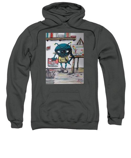 Alien Artist Sweatshirt
