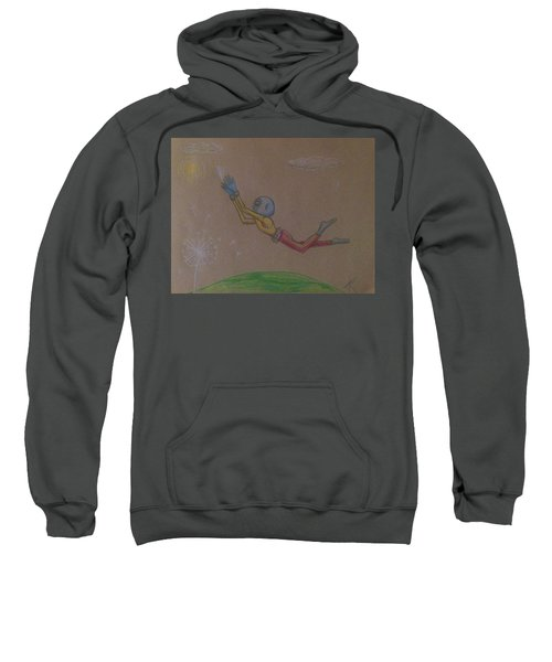 Alien Chasing His Dreams Sweatshirt