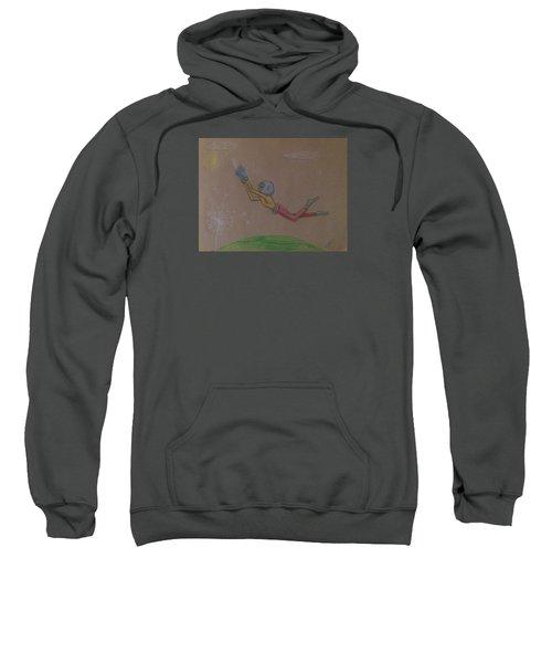 Alien Chasing His Dreams Sweatshirt