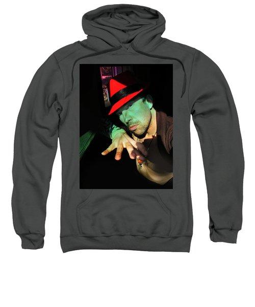 Alien Hat Sweatshirt