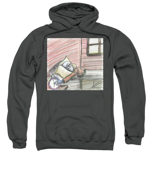 Alien Keeps Snoozin Sweatshirt