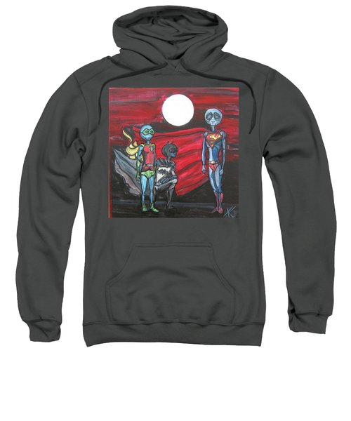 Alien Superheros Sweatshirt