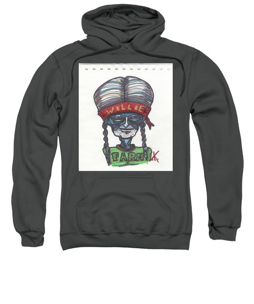alien Willie Nelson Sweatshirt