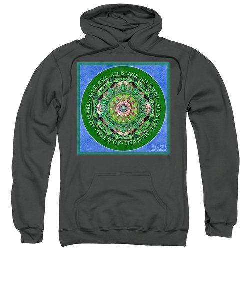 All Is Well Mandala Prayer Sweatshirt