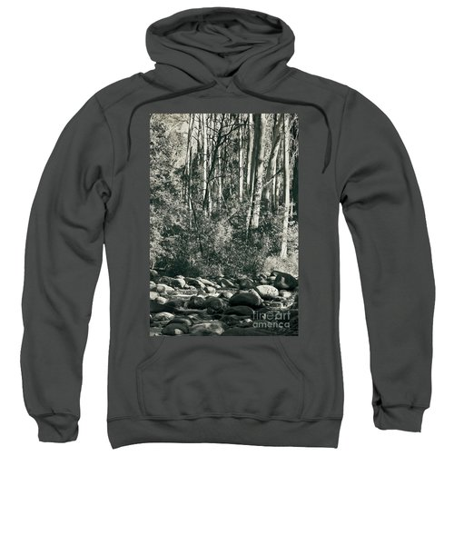 All Was Tranquil Sweatshirt by Linda Lees