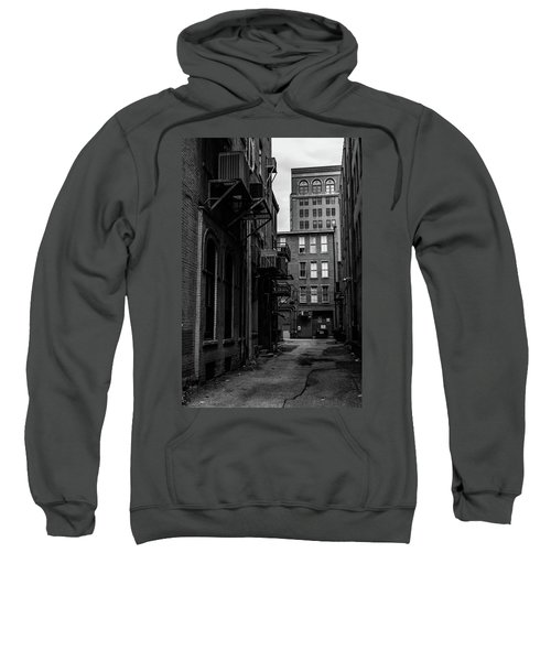 Sweatshirt featuring the photograph Alleyway I by Break The Silhouette