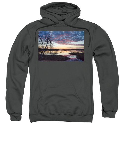 Almost Spring Sunset Sweatshirt