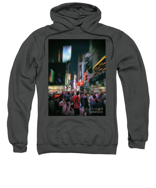 Alone In New York City 1 Sweatshirt