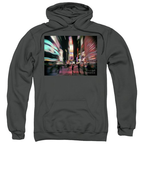 Alone In New York City 3 Sweatshirt