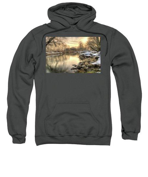 Along The Thames River Signed Sweatshirt