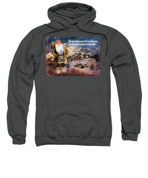 Alpine Santa Card 2015 Sweatshirt