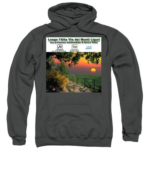 Alta Via Dei Monti Liguri Cd Case Label Sweatshirt