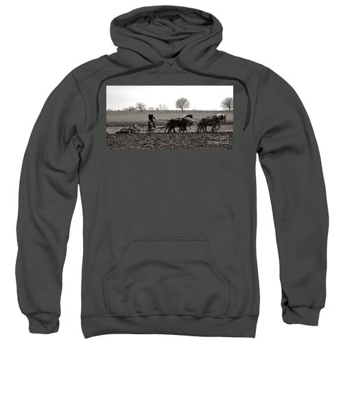 Amish Farming Sweatshirt