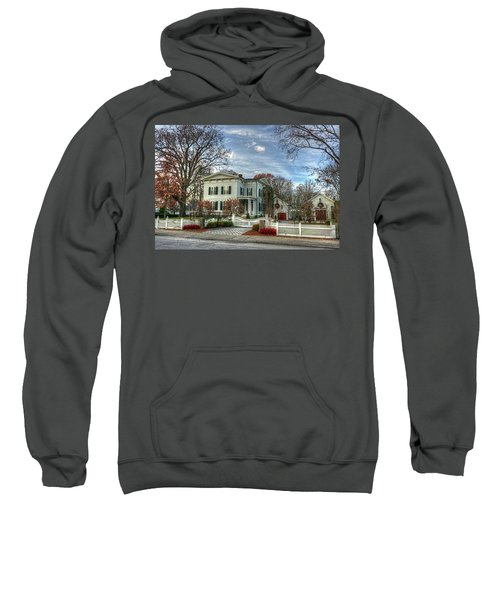 Amos Tuck House In Late Autumn Sweatshirt