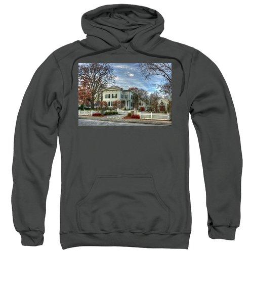 Amos Tuck House In Late Autumn Sweatshirt