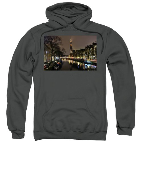 Amsterdam By Night - Prinsengracht Sweatshirt