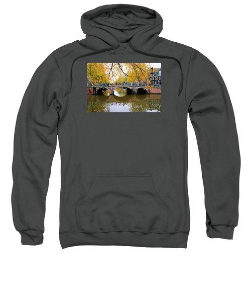 Amsterdam Canal Reflections Sweatshirt