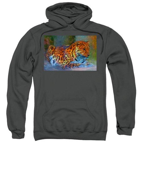 Amur Leopard Sweatshirt