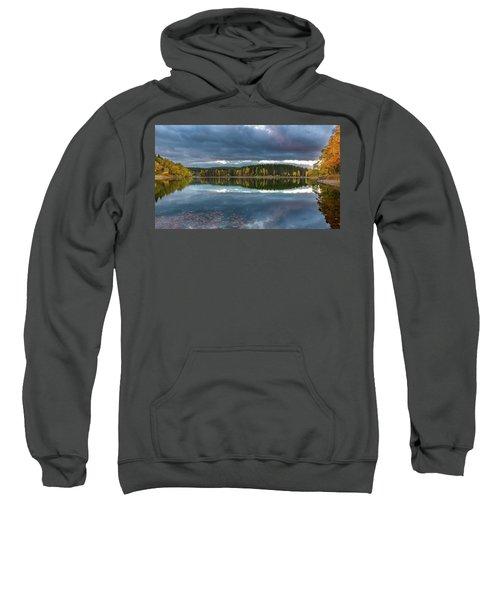 An Autumn Evening At The Lake Sweatshirt
