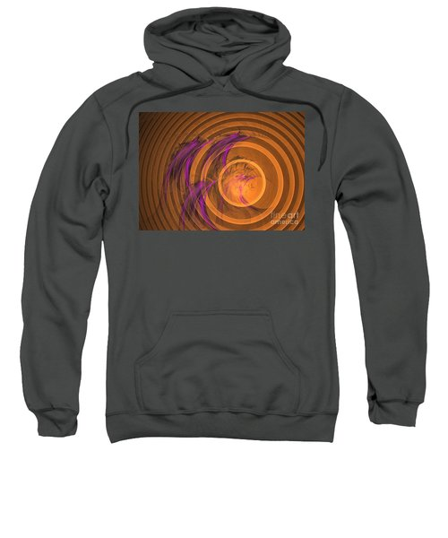 An Echo From The Past - Abstract Art Sweatshirt