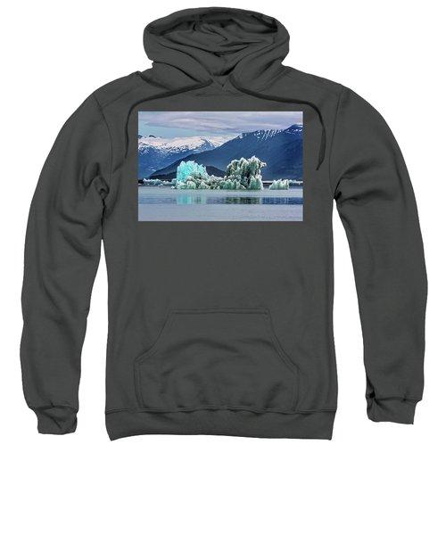 An Iceberg In The Inside Passage Of Alaska Sweatshirt