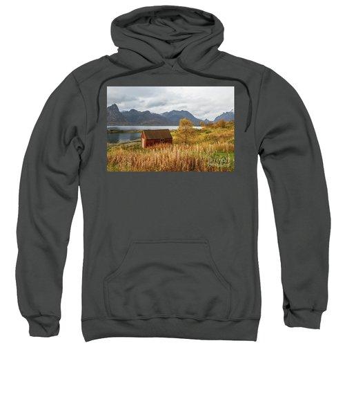 An Old Boathouse Sweatshirt