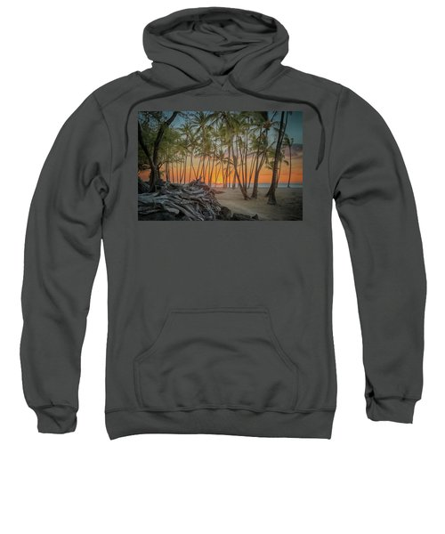 Anaehoomalu Beach Sunset Sweatshirt
