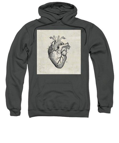 Anatomical Heart Medical Art Sweatshirt