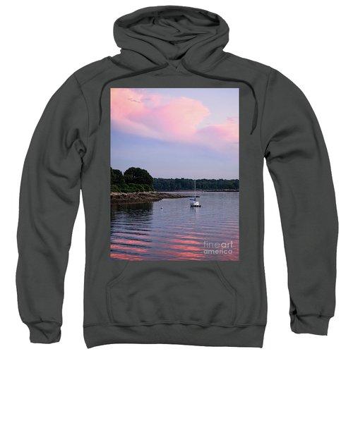 Anchored At Peaks Island, Maine  -07828 Sweatshirt