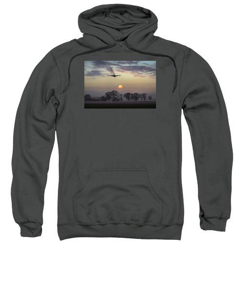 And Finally Sweatshirt by Gary Eason
