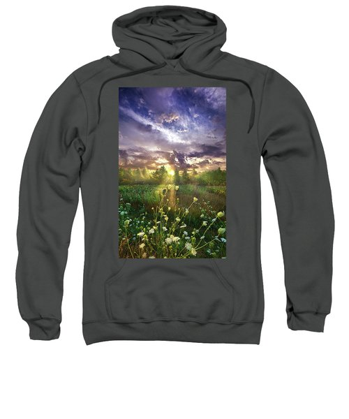 And In The Naked Light I Saw Sweatshirt