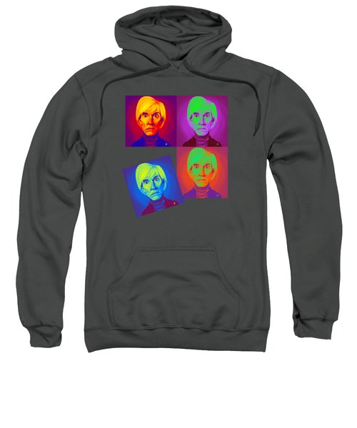 Andy Warhol On Andy Warhol Sweatshirt