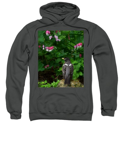 Angel In The Garden Sweatshirt