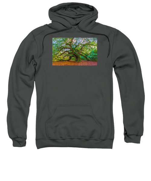 Angel Oak Tree Charleston Sc Sweatshirt