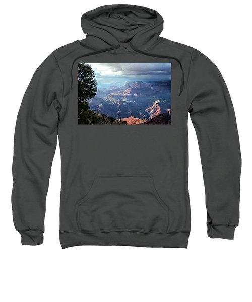 Angel S Gate And Wotan S Throne Grand Canyon National Park Sweatshirt
