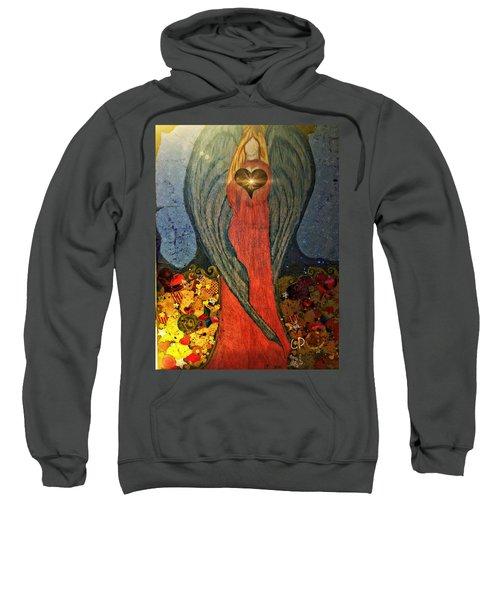 Angel Sails Waves Of Love Sweatshirt