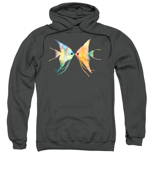 Angelfish Kissing Sweatshirt