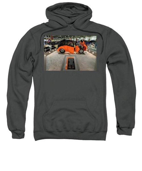 Sweatshirt featuring the photograph Anglia by Randy Scherkenbach