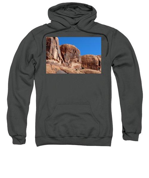 Angry Rock  Sweatshirt